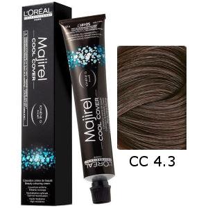 L'Oreal Tinte Majirel Cool Cover 4.3 Castaño Dorado 50ml