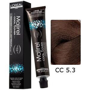 L'Oreal Tinte Majirel Cool Cover 5.3 Castaño Claro Dorado 50ml