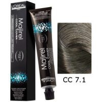 L'Oreal Tinte Majirel Cool Cover 7.1 Rubio Ceniza 50ml