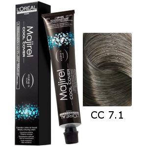 L'Oreal Tinte Majirel Cool Cover 7.1 Rubio Ceniza 50ml