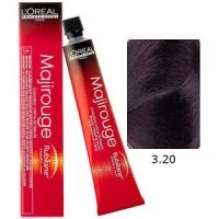 L'Oreal Tinte Majirouge 3.20 Castaño Oscuro Irisado Intenso 50ml