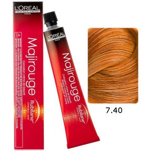 L'Oreal Tinte Majirouge 7.40 Rubio Cobrizo Intenso 50ml