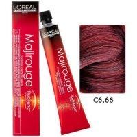 L'Oreal Tinte Majirouge C6.66 Rubio Oscuro Rojo Profundo 50ml
