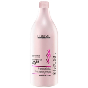 Loreal Vitamino Color A-OX Champú Protección Color 1500ml Serie Expert