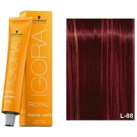 Schwarzkopf Tinte Igora Royal Fashion Lights L-88 Rojo 60ml