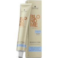 BlondMe Bleach & Tone 60ml Schwarzkopf Decoloración y Matización