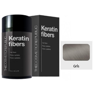 Keratin Fibers Gris The Cosmetic Republic 12.5gr