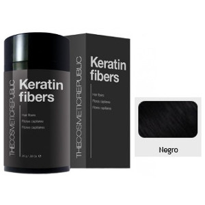 Keratin Fibers Negro The Cosmetic Republic 12.5 gramos