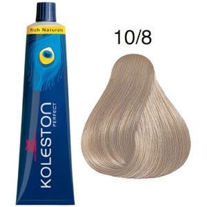 Tinte Koleston Perfect 10-8 Wella Rubio Super Claro Perla Rich Naturals 60ml
