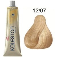 Tinte Koleston Perfect 12-07 Wella Superaclarante Rubio Natural Marrón Special Blonde 60ml