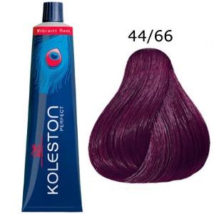 Tinte Koleston Perfect 44-66 Wella Castaño Medio Violeta Intenso Vibrant Reds P5 60ml