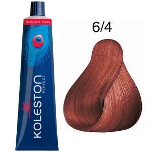 Tinte Koleston Perfect 6-4 Wella Rubio Oscuro Cobrizo Vibrant Reds 60ml