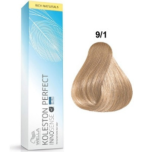 Tinte Koleston Perfect INNOSENSE 9-1 Wella Rubio Muy Claro Ceniza Rich Naturals 60ml