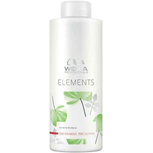 Champú Renovador 1000ml Wella Care Elements Renewing Sin Sulfatos