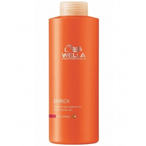 Wella Enrich Acondicionador Cabello Fino-Normal 1000ml