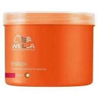 Wella Enrich Mascarilla Hidratante Cabello Grueso 500ml