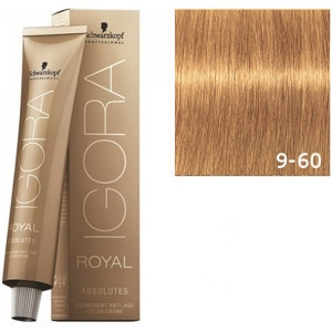 Igora Royal Absolutes 9-60 Schwarzkopf Rubio Muy Claro Marron Natural 60ml
