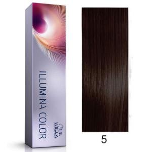 Tinte Illumina Color 5/ Wella Castaño Claro 60ml