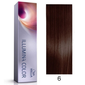 Tinte Illumina Color 6/ Wella Rubio Oscuro 60ml