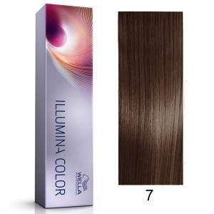 Tinte Illumina Color 7/ Wella Rubio Medio 60ml