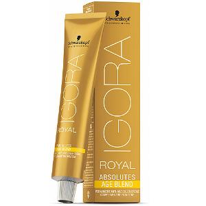 Tintes Igora Royal Absolutes Age Blend 60ml 100% Cobertura de Canas