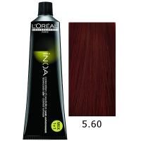 Loreal Tinte Inoa 5.60 DM5 Castaño Claro Rojo Intenso 60ml Sin Amoniaco