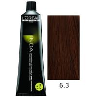 Loreal Tinte Inoa 6.3 Rubio Oscuro Dorado 60ml Sin Amoniaco