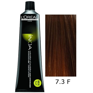Loreal Tinte Inoa 7.3 Fundamental Rubio Dorado 60ml Sin Amoniaco