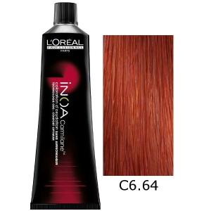 Loreal Tinte Inoa Carmilane C6.64 Rubio Oscuro Rojo Cobrizo 60ml Sin Amoniaco