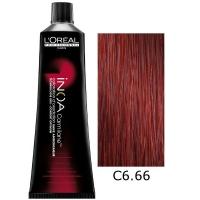 Loreal Tinte Inoa Carmilane C6.66 Rubio Oscuro Rojo Profundo 60ml Sin Amoniaco