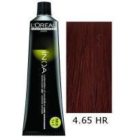 Loreal Tinte Inoa High Resist 4.65 Castaño Rojo Caoba 60ml Sin Amoniaco