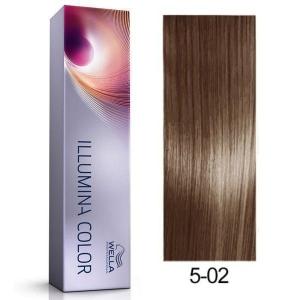 Tinte Illumina Color 5/02 Wella Castaño Claro Natural Mate 60ml