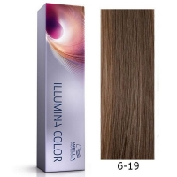 Tinte Illumina Color 6/19 Wella Rubio Oscuro Ceniza Cendre 60ml
