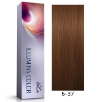 Tinte Illumina Color 6/37 Wella Rubio Oscuro Dorado Marrón 60ml
