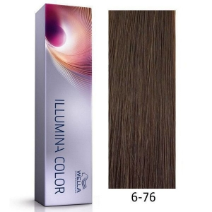 Tinte Illumina Color 6/76 Wella Rubio Oscuro Marrón Violeta 60ml
