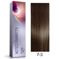 Tinte Illumina Color 7/3 Wella Rubio Medio Dorado 60ml