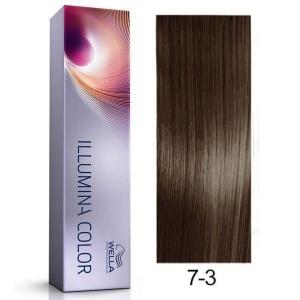 Tinte Illumina Color 7/3 Wella Rubio Medio Dorado 60ml