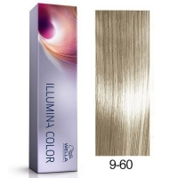Tinte Illumina Color 9/60 Wella Rubio Muy Claro Violeta Natural 60ml