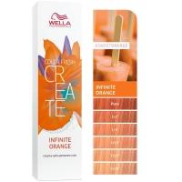 Baño de color COLOR FRESH CREATE Infinite Orange Wella 60ml