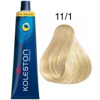 Tinte KOLESTON PERFECT 11/1 Wella Rich Naturals Rubio Extra Claro Ceniza 60ml